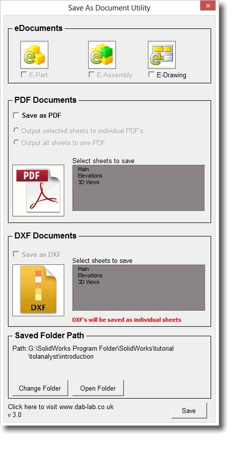 solidworks macro save as pdf